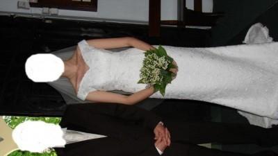 Suknia ślubna Herms Bator stylowa rybka