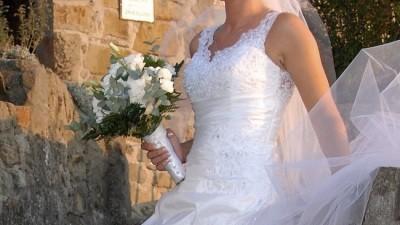 Suknia Ślubna HERMS - KORJA (Madonna)
