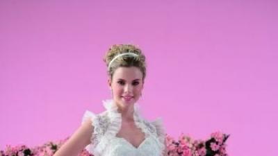 Suknia ślubna, hiszpanka, koronka, tiul, kolekcja Jasmine F107