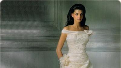 suknia ślubna hiszpańskiej firmy Atelier Diagonal