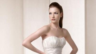 Śuknia ślubna hiszpańskiej firmy White One W1 model 3012