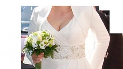 Suknia ślubna Hollie z kolekcji Gala+dodatki