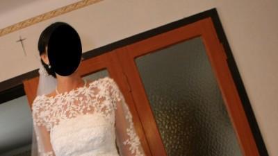 Suknia ślubna Homenaje Pronovias