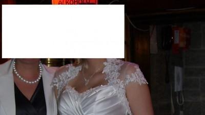 Suknia ślubna Izabela firmy Chassmi + dodatki okazja
