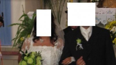 suknia ślubna(jaśniutkie ecrui)