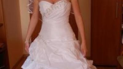 Suknia ślubna jednoczęściowa