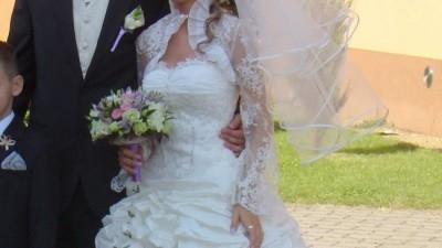 Suknia ślubna Jola-Moda model Tess kolekcja 2009