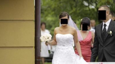 Suknia ślubna Justin Aleksander 8471