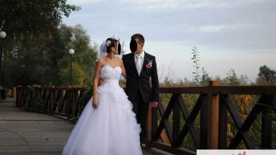 Suknia ślubna Justin Aleksander 8613
