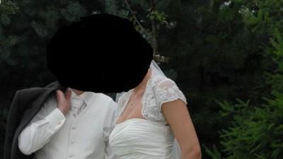 """Suknia ślubna """"Karina"""" rozm. 38, ecru. tylko 800 zł"""