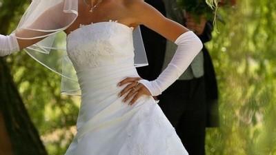 Suknia ślubna kolekcja 2007