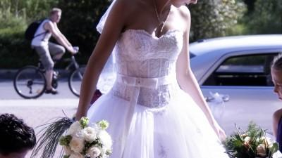Suknia ślubna kolekcja Annais bridal biała r. 38