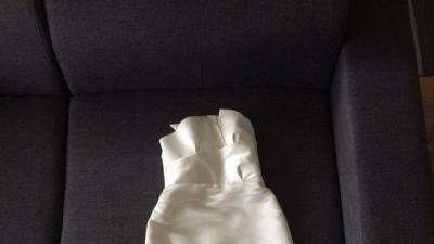 Suknia Ślubna kolor ECRU Madonna