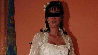 Suknia Ślubna koloru Toffi