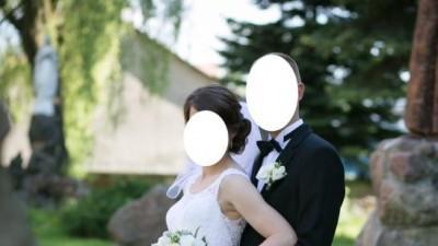 Suknia Ślubna koronkowa Nabla Merida rozmiar 38