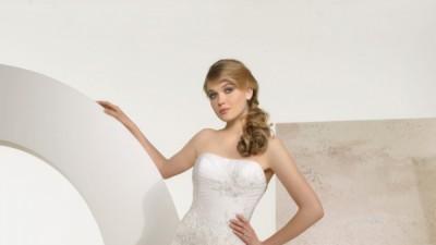 Suknia Ślubna Koronkowa New York MGNY MORI LEE
