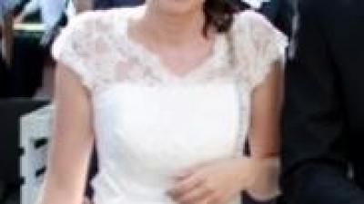 Suknia ślubna krótka