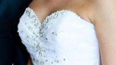 Suknia ślubna księżniczka firmy Madeline Gardner NY