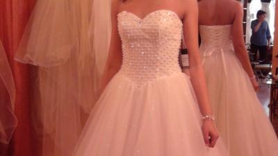 Suknia ślubna księżniczka princessa ecru 36/38 Relevance Bridal