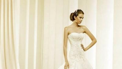 Suknia ślubna LA SPOSA DETALLE 2011 rozmiar 36 ivory