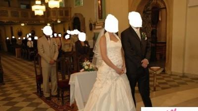 Suknia Ślubna LA SPOSA ( dla cieżarnej )