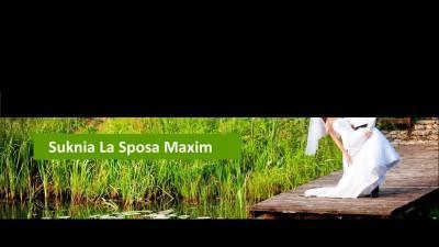 Suknia ślubna La Sposa Maxim, częstochowa, rozmiar 36