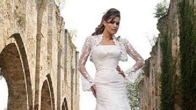suknia ślubna Latina z kolekcji Divina Sposa