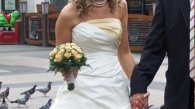 "Suknia ślubna ""LAURA"""