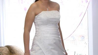 """suknia ślubna """"Liliane"""" firmy Estera"""