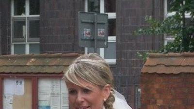 Suknia ślubna LIS - kolor ecru