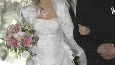 suknia ślubna lisa ferrera cosmobella 7247 kolekcja 2008!!!