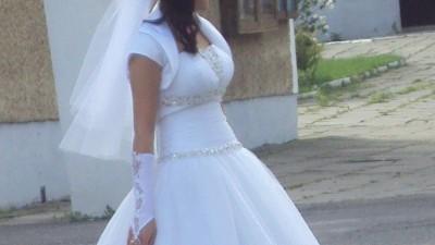 Suknia Ślubna Lisa Ferrera Cosmobella 7313  (przerabiana)