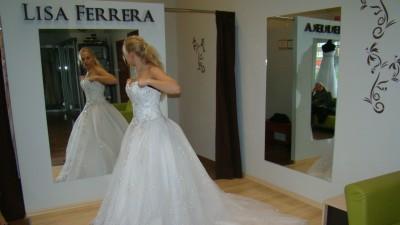 Suknia Ślubna Lisa Ferrera Demetrios 984 Księżniczka!!!!