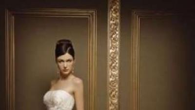 Suknia ślubna Lisa Ferrera z kolekcji Demetrios!