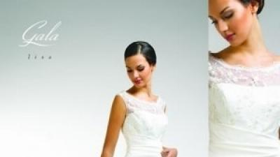 suknia ślubna LISA firmy Gala