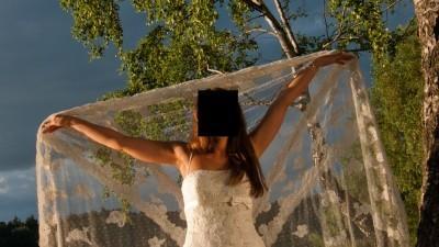 Suknia ślubna Lorna Pronovias 34/36 ecru