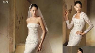 Suknia ślubna Lorna Pronovias + Bolerko