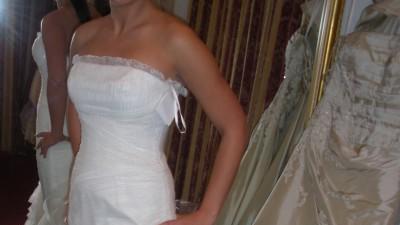 suknia slubna madonna balerina + Gratis SUPER CENA