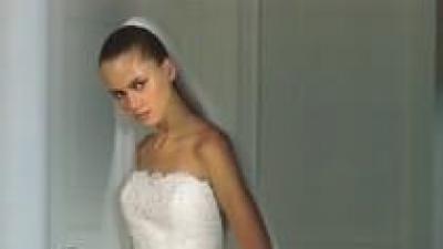 Suknia ślubna, Madonna, kolekcja Pronovias, model Halifax