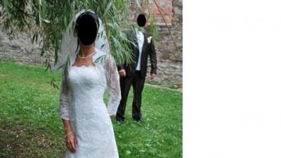 Suknia Ślubna MADONNA San Patrick Bahamas r. 36  999zł.