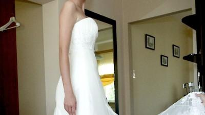 Suknia ślubna MADONNA - WHITE ONE 420