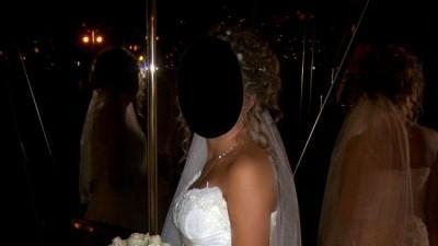 Suknia ślubna MAJA 2008 z francuskiej koronki
