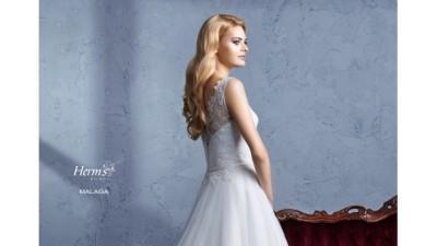 Suknia Ślubna ''Malaga'' Śliczna! L-XL