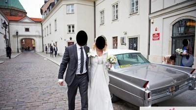 Suknia ślubna Manuel Mota SAMAN r.36/38
