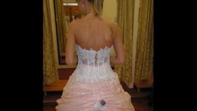 Suknia ślubna Marietta rozm. 36, szyta w salonie