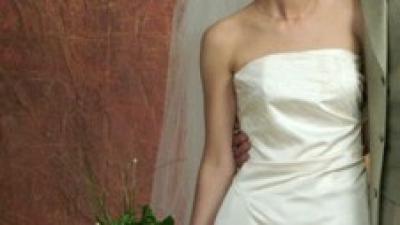 suknia ślubna marki CYMBELINE