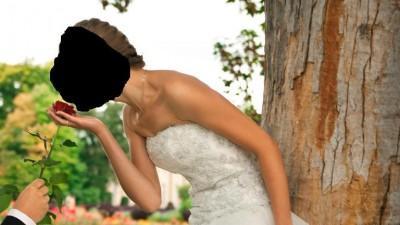 Suknia ślubna marki Herm's model Gaylenne