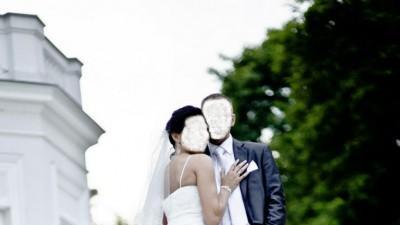 Suknia ślubna marki Pronovias