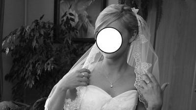 Suknia ślubna MAUREEN firmy GALA 34/36 ECRU