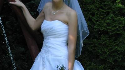 suknia ślubna MELODY 170 cm roz.36/38